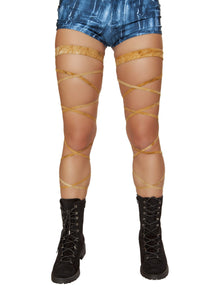 "3636 - 100"" Suede Leg Strap with Attached Garter"