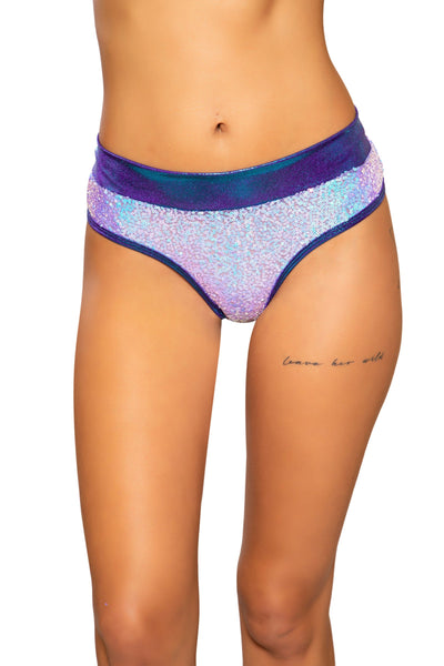 3711 - Sequin & Shimmer Shorts