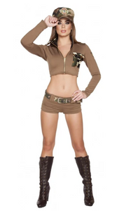 4591 - 4PC SEXY SOLDIER BABE