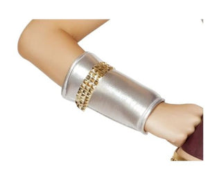 GL104 WRIST CUFFS W/GOLD TRIM DETAIL-AS SHOWN