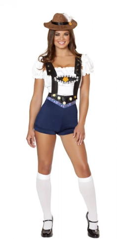 4535 - 4PC BODACIOUS BEER BABE COSTUME