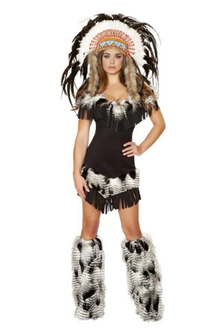 4470 - 1PC CHEROKEE PRINCESS COSTUME