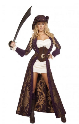 4574 - 6PC DECADENT PIRATE DIVA