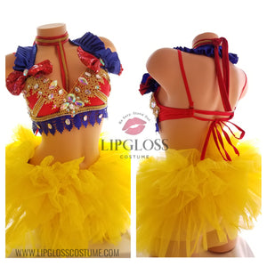 Snow White Rave Costume