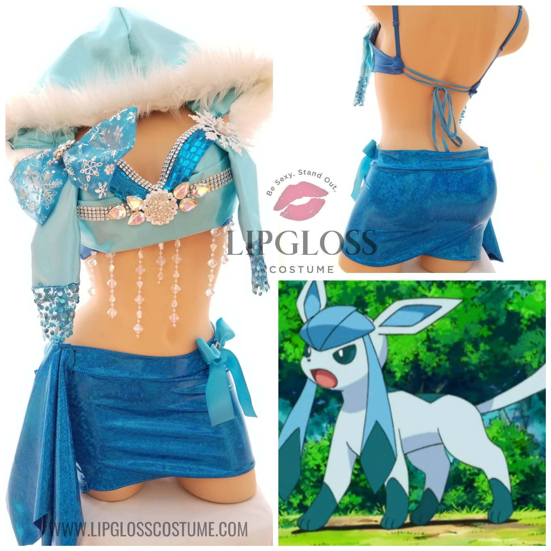 Pokemon inspired Costume, Sexy Animal