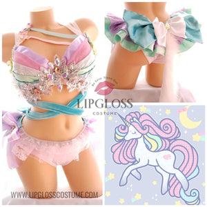 Sexy Pastel Unicorn, Rainbow Unicorn