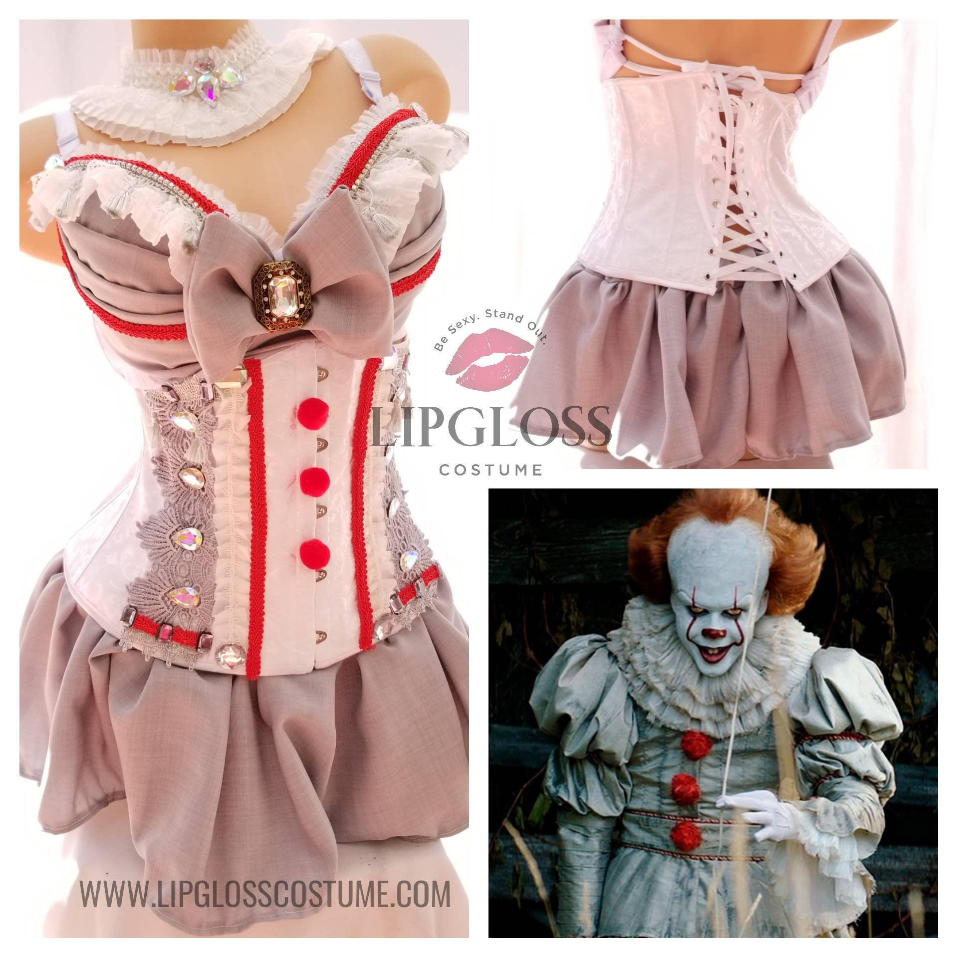 Woman Adult Costume Pennywise