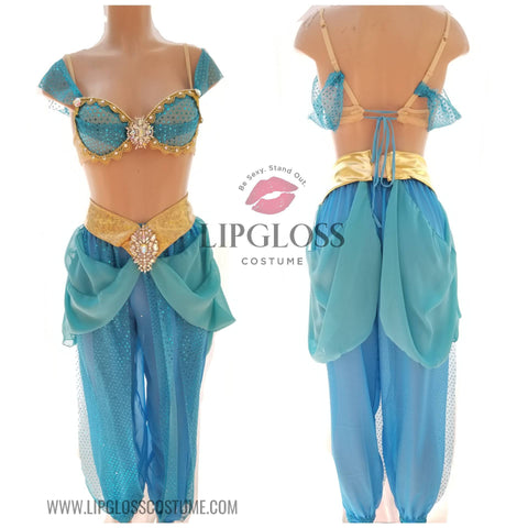 Sexy Princess Jasmine with pants