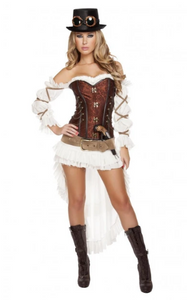 4576 - 7PC SEXY STEAMPUNK BABE