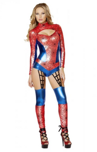 4489 - 1PC WEB CRAWLER COSTUME