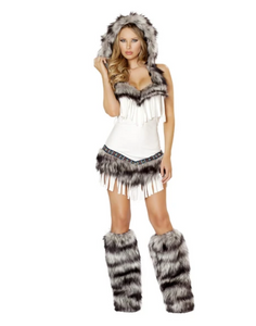 4474 - 1PC INDIAN SEDUCTRESS COSTUME