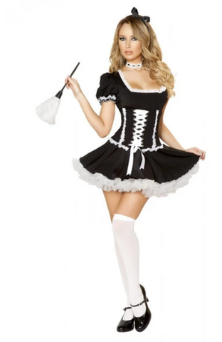 4537 - 4PC MISCHIEVOUS MAID COSTUME