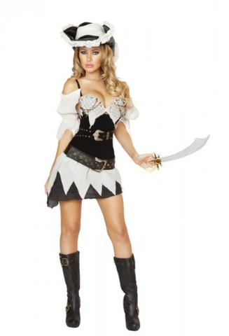 4528 - 5PC SEXY SHIPWRECKED SAILOR COSTUME