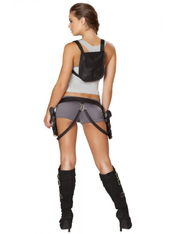 4492 - 5PC TREASURE HUNTRESS COSTUME