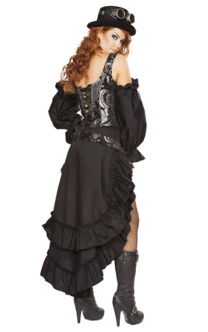 4647 - 6PC SEXY STEAMPUNK MAIDEN
