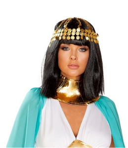 4927 - GOLD COIN HEADPIECE