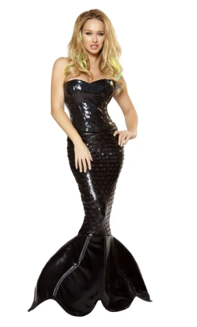 4353 - 2PC MERMAID MISTRESS
