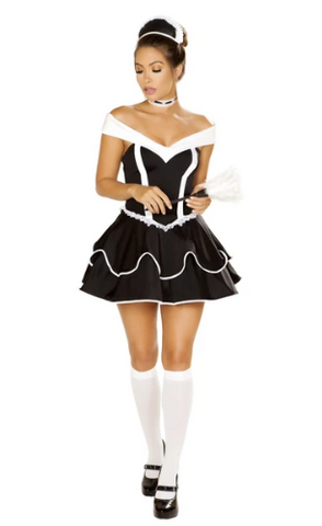 4886 - 4PC SEXY CHAMBER MAID