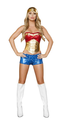 4377 - 4PC WONDER HEROINE