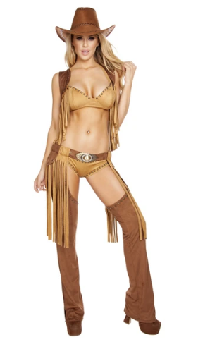4584 - 5PC WILD WESTERN TEMPTRESS