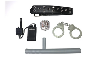 4863 - 5PC POLICE ACCESSORY SET