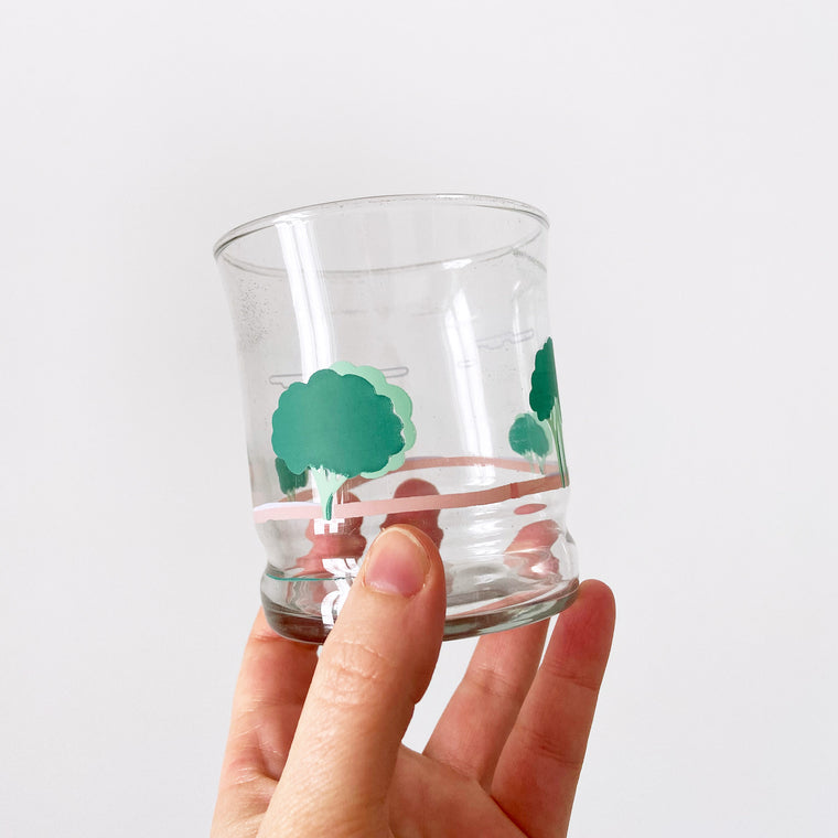 TROUVAILLE - DUO VERRES PAYSAGE