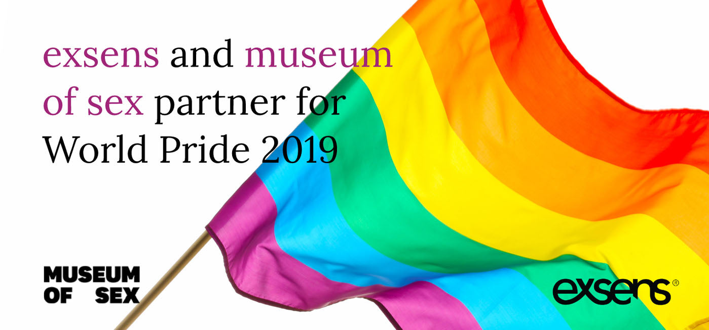 EXSENS and Museum of Sex Partner for World Pride