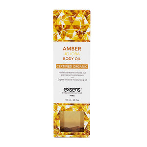 EXSENS Amber Jojoba Crystal Infused Body Oil