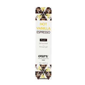 EXSENS Hot Vanilla Espresso Cooling Arousal Gel