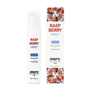 EXSENS Raspberry Mint Cooling Arousal Gel