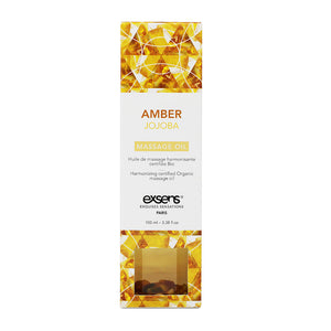 EXSENS Crystal Infused Massage Oil - Amber Jojoba
