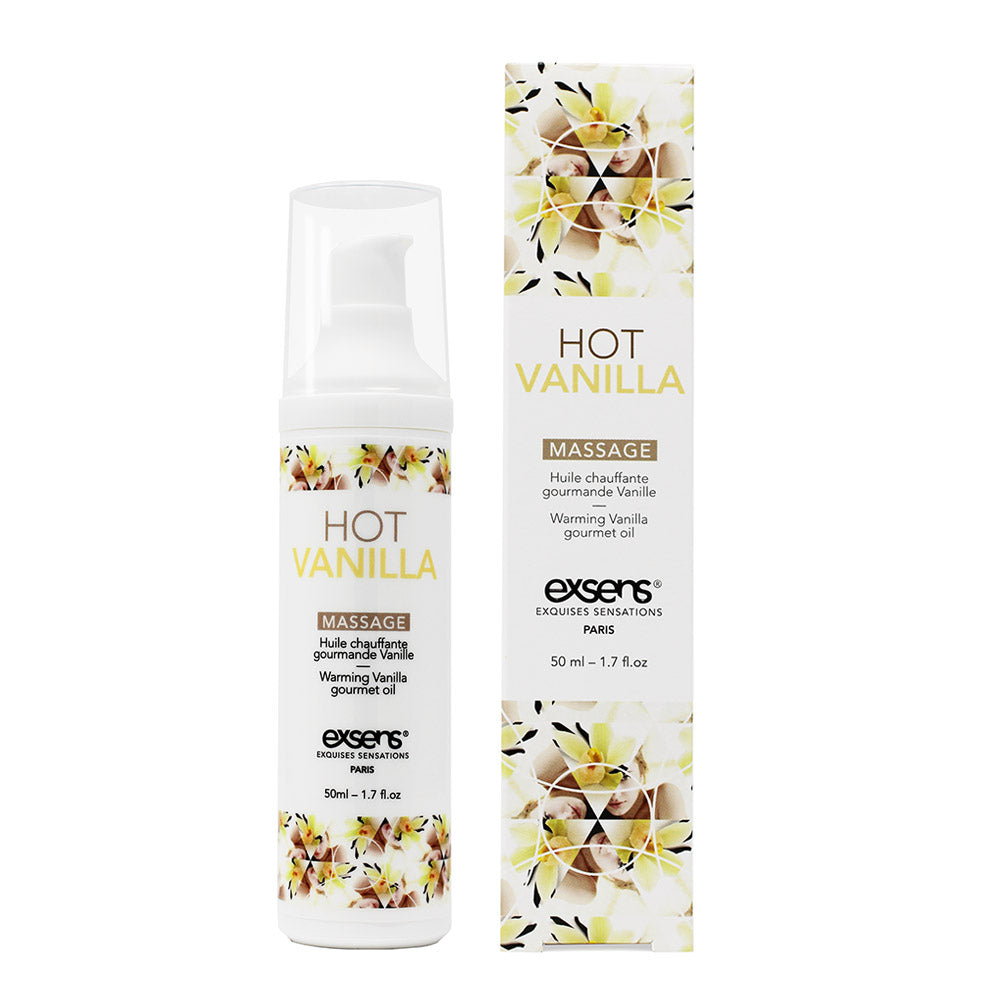 EXSENS Hot Vanilla Warming Intimate Massage Oil