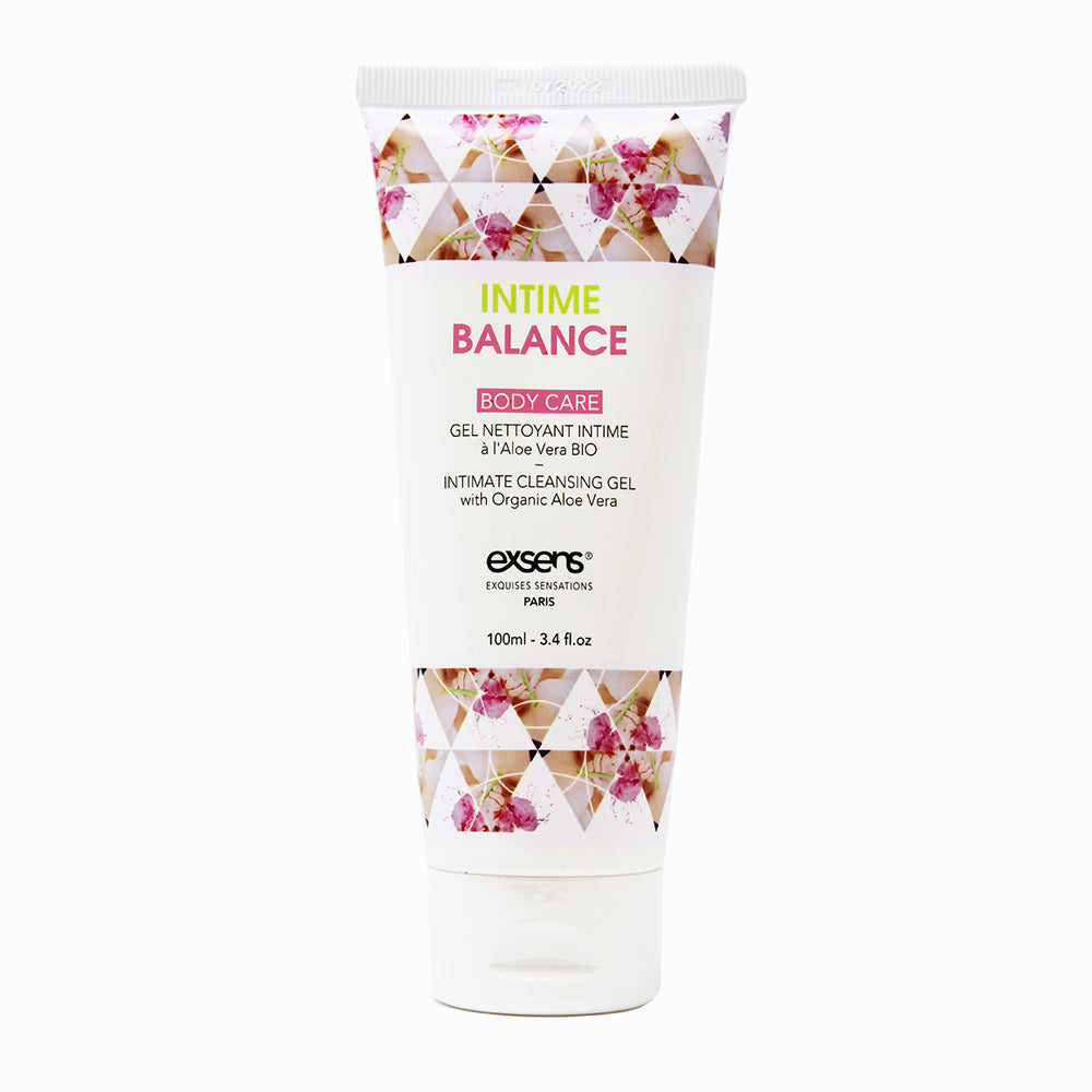 EXSENS Intime Balance Intimate Cleansing Gel with Organic Aloe Vera
