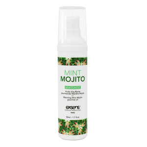 EXSENS Mint Mojito Warming Intimate Massage Oil