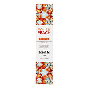 EXSENS Organic White Peach Warming Intimate Massage Oil