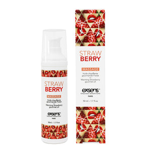 EXSENS Strawberry Warming Intimate Massage Oil