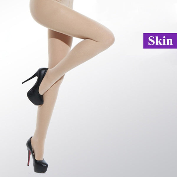 Women Black Sexy Tights Opaque Pantyhose 120D Seamless Winter Warm For Women Spring Autumn Nylon Stockings Footed Thick Stocking