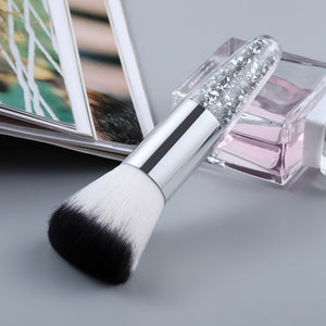 FLD 1pc Professional Chubby Diamond Foundation Brush 6Color Makeup Brush Flat Cream Makeup Brushes Professional Cosmetic Make-up