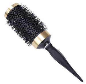 Professional Hair Dressing Brushes High Temperature Resistant Ceramic Iron Round Comb  5 size Hair Styling Tool Hairbrush