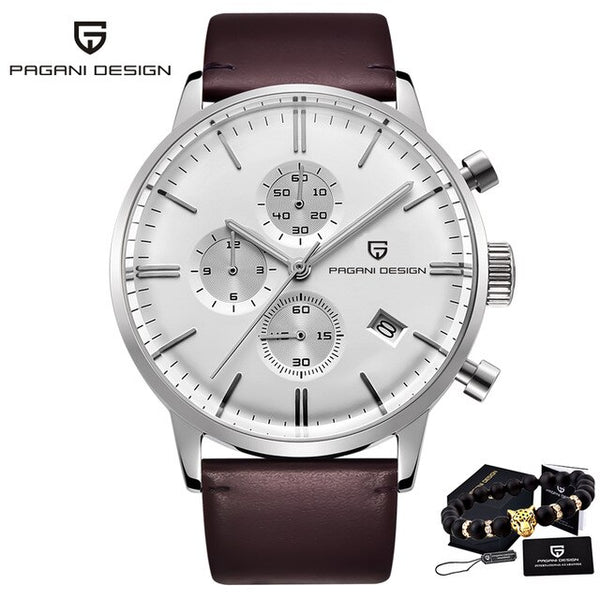 2020 New PAGANI DESIGN Brand Luxury Watches for men automatic Watch Date Waterproof Chronograph VK67 Movement Relogio Masculino