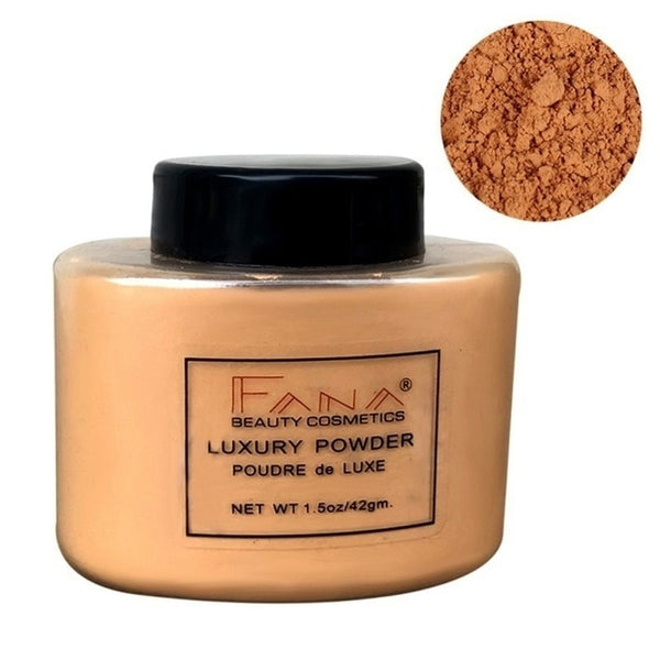 Face Foundation Powder Oil Control Contour Full CoverBanana Powder Translucent Mineral Makeup Base Matte Foundation Make Up
