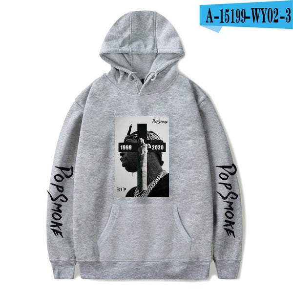 Hot Sale Fashion Sweatshirt Hoodies Men Pop Smoke Kpop Sweatshirts Women Streetwear Hoody Oversized Hoodie Dropshipping Hip Hop