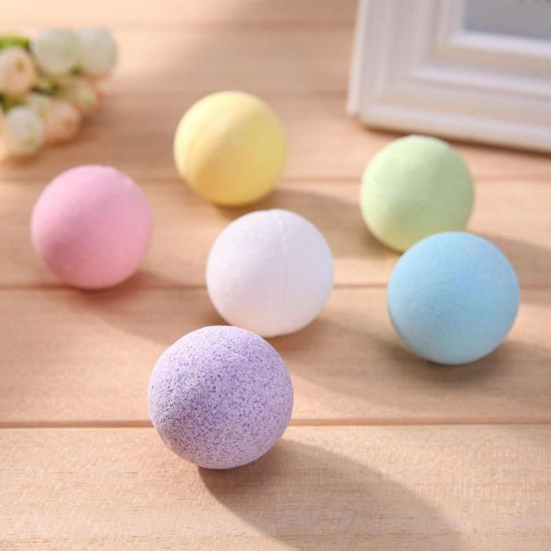 20g Small Bath Bomb Body Stress Relief Bubble Ball Moisturize Shower Cleaner New 667D