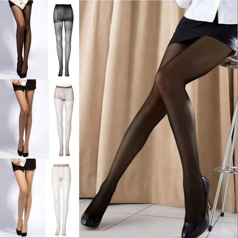 Sexy Hosiery Women Stockings Skinny Full Length Thin Tights Slim Elastic Pantyhose High Stretch Lingerie Dress Decor Gift