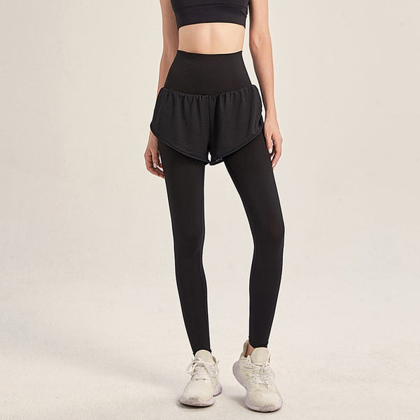 High waist fitness fitness leggings women seamless energy tights sports running sportswear yoga pants drawstring sports training