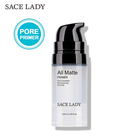 SACE LADY Face Primer Makeup Liquid Matte Base Make Up Oil-control Smooth Fine Lines Pore Cream Brighten Cosmetic Wholesale