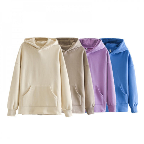 toppies loose oversize hoodies womens sweatshirt autumn winter fleece hoodies 2020 women clothes