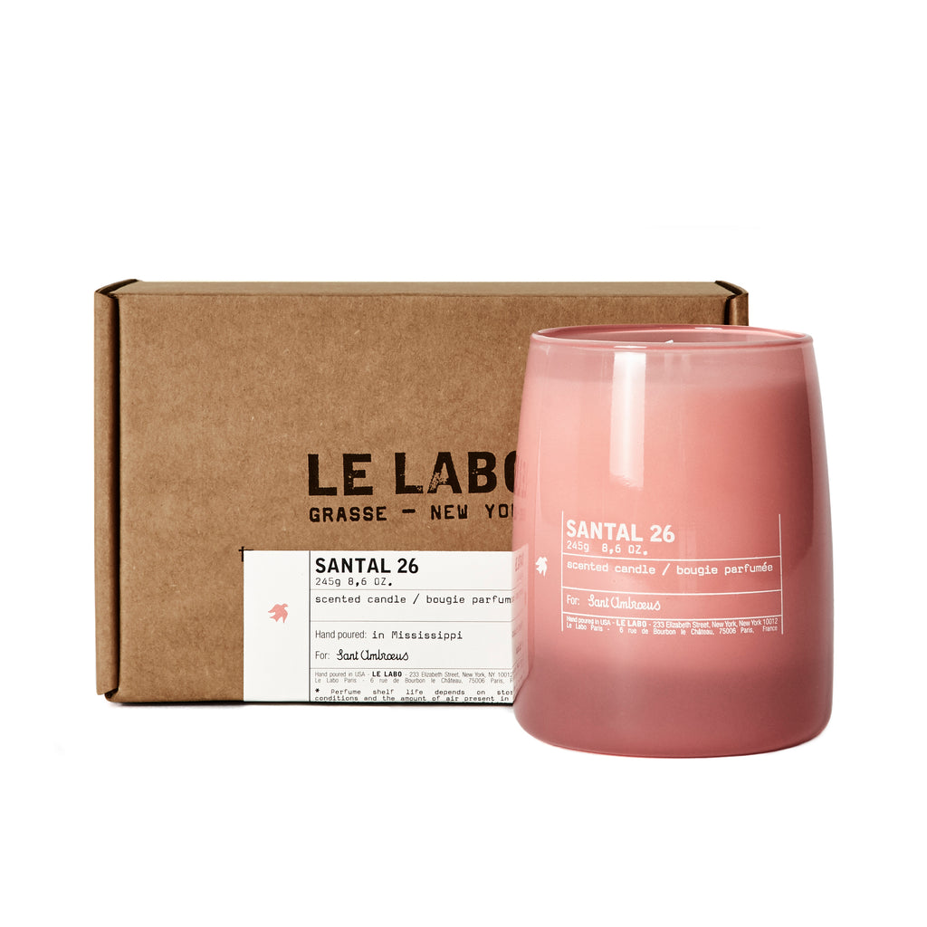 The Sant Ambroeus X Le Labo Candle
