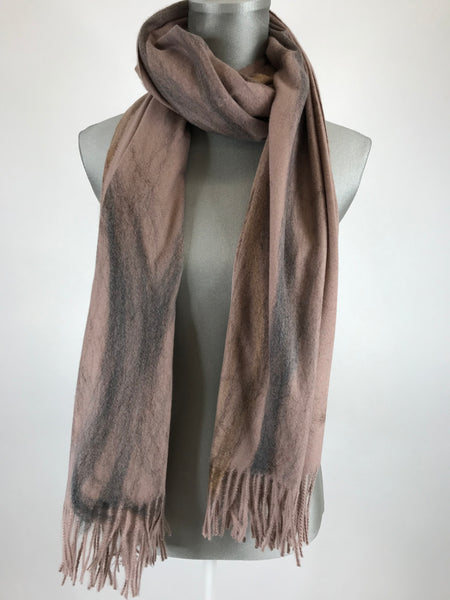 Lagenlook Borth Scarf in Pink Code 1809