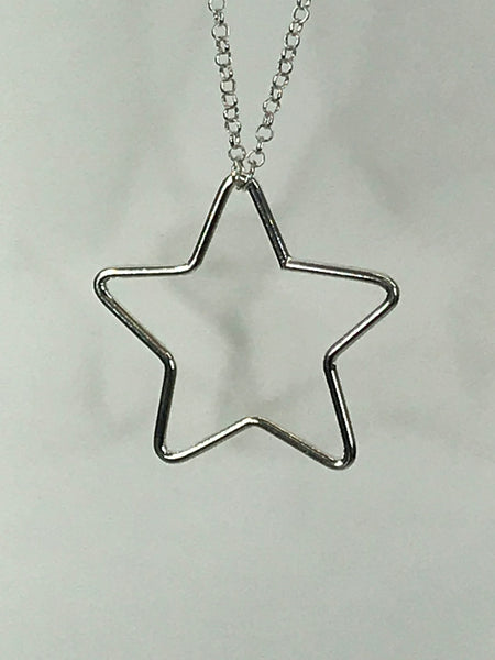 Lagenlook large Cut out star Necklace code JYD18056